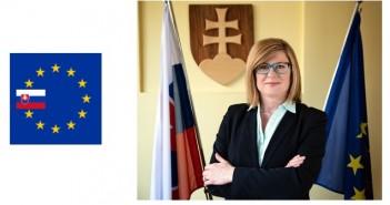 Slovak agriculture and rural development minister, Gabriela Matečná,