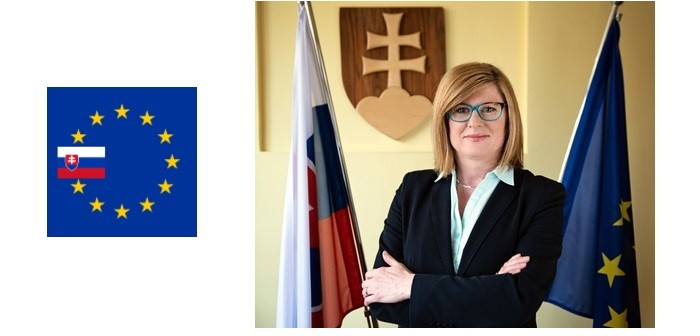 Slovak agriculture and rural development minister, Gabriela Matečná,
