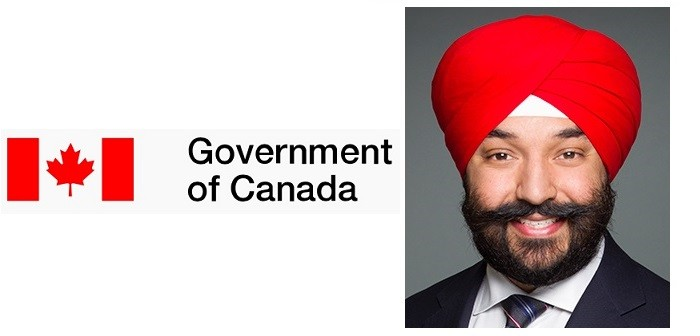 Canada Govt Navdeep Bains