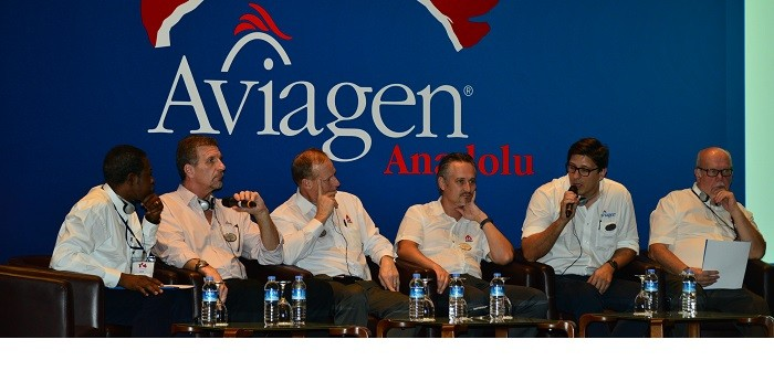 Aviagen Anadolu seminar speakers panel