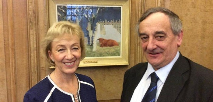 NFU holds talks on Brexit with Defra Secretary of State