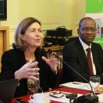 OIE director general Monique Éloit