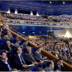 Delegates at the NFU conference, 2017