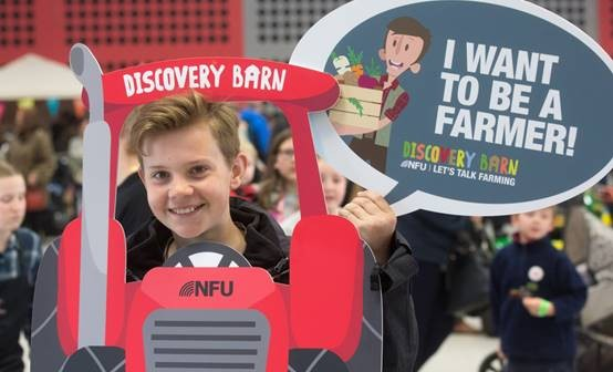New Discovery Barn aims to teach children about farming