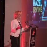 Host Hazel Irvine was a popular choice