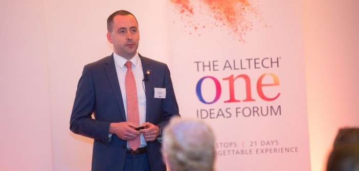 Fergal McAdam, general manager for Alltech UK, said the session provided an opportunity to look to the future