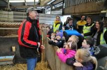 Farmvention children on farm