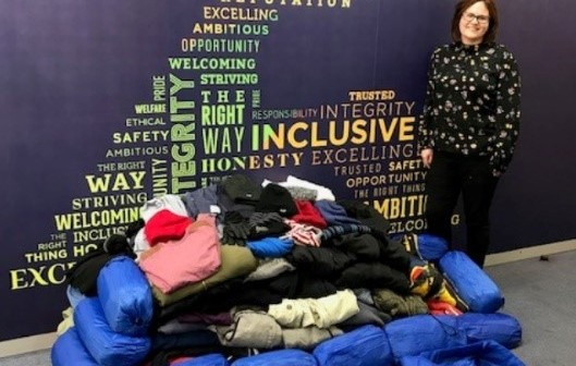 Avara's charity drive helps the homeless