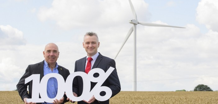 Organic feed manufacturer switches to 100% renewable energy