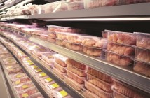 supermarket poultry shelf