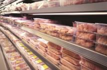 supermarket poultry shelf