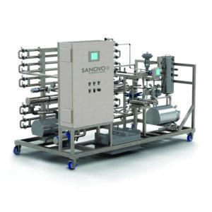 Sanovo product recovery