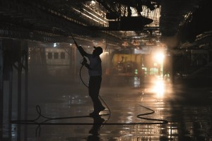 Avian flu cleaning image