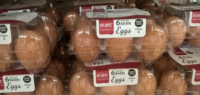 Sainsbury's italian barn eggs Atlante