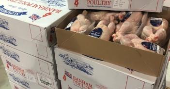 Banham Poultry chicken fareshare donations