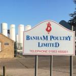 Banham Poultry sign