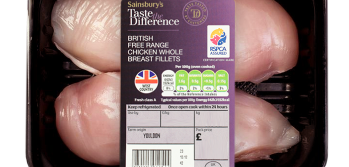RSPCA Assured - Chicken Breast - Sainsburys - Taste The Difference