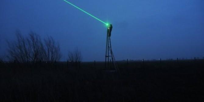 lasers for wild bird deterent