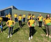 Fairburn's Eggs staff aim high to raise funds for Farm Africa