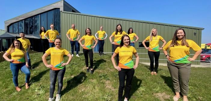 Fairburns Three Peak Challenge team for Farm Africa