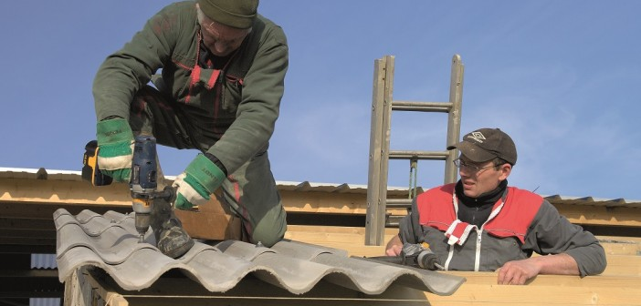 Normandy,,France,,March,2009.,Construction,Of,A,New,Farm,Building