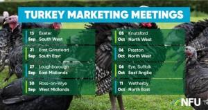 NFU turkey marketing meetings 2021